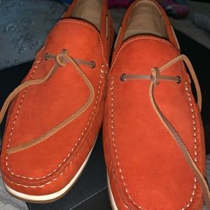 RUST COLORED MENS LOAFER